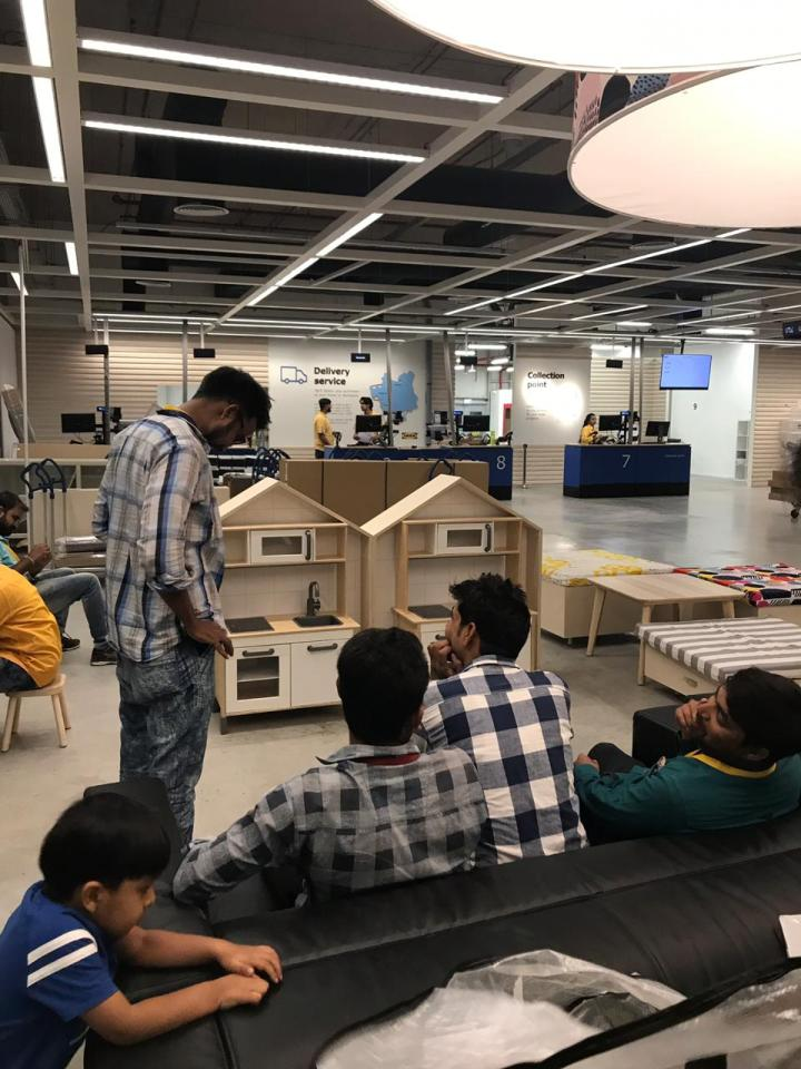 IKEA Delivery Section